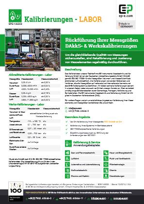 EP-Engineering : Datenblatt-Katalog